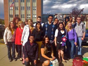 Colgate Debaters at SUNY BinghamtonFall 2012