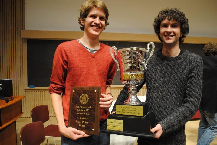 The Winners! University of Otago New Zealand