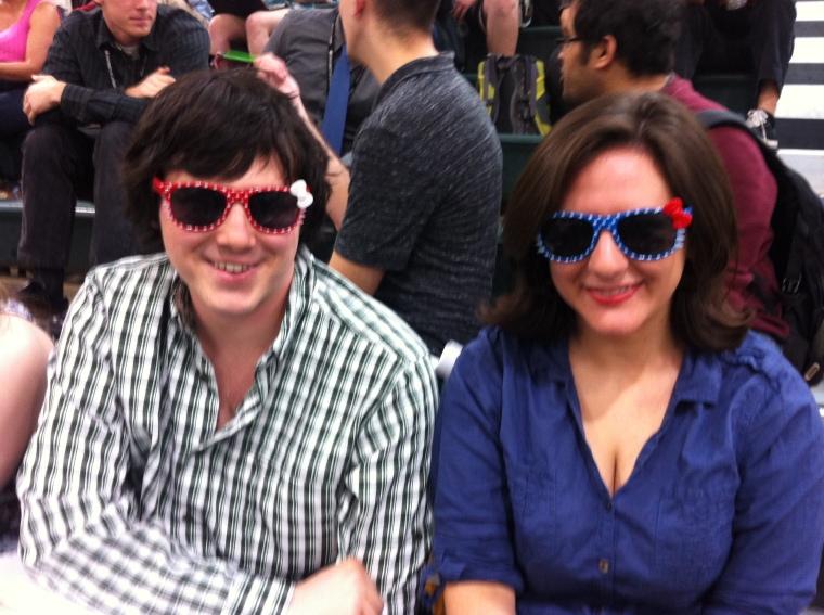 Jack and Alexa Ready for the California sun!