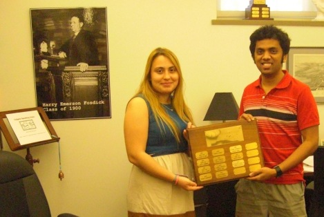 Lorelai & Srikar: The Winners!